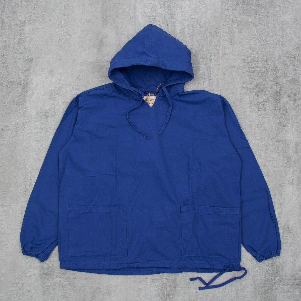 Uskees 3008 Organic Smock - Ultra Blue 1