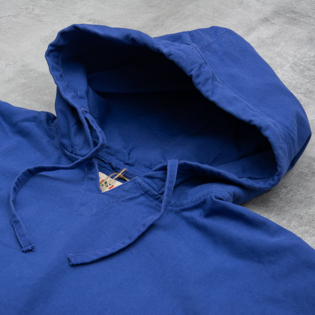 Uskees 3008 Organic Smock - Ultra Blue 2