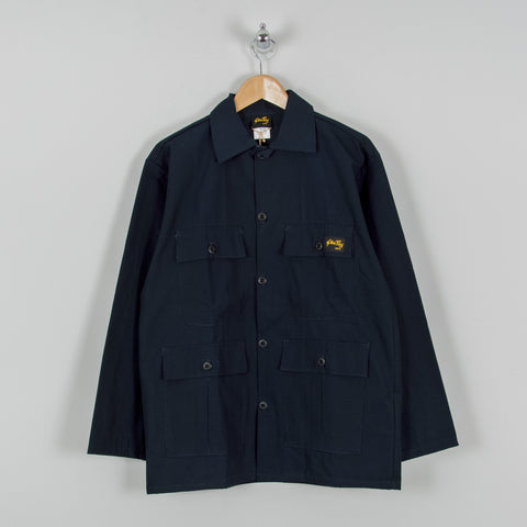 Stan Ray 4 Pocket Jacket - Navy Rip Stop 1