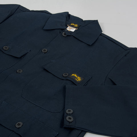 Stan Ray 4 Pocket Jacket - Navy Rip Stop 2