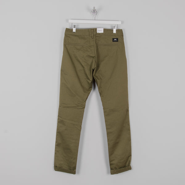 Edwin 55 Chino Rinsed - Military Green