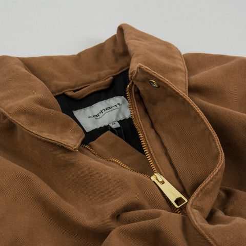Carhartt WIP Arcan Jacket - Brown Rinsed 2
