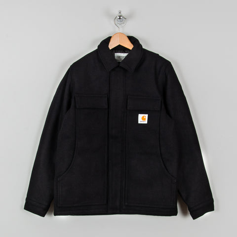 Carhartt WIP Wool Arctic Coat - Dark Navy 1