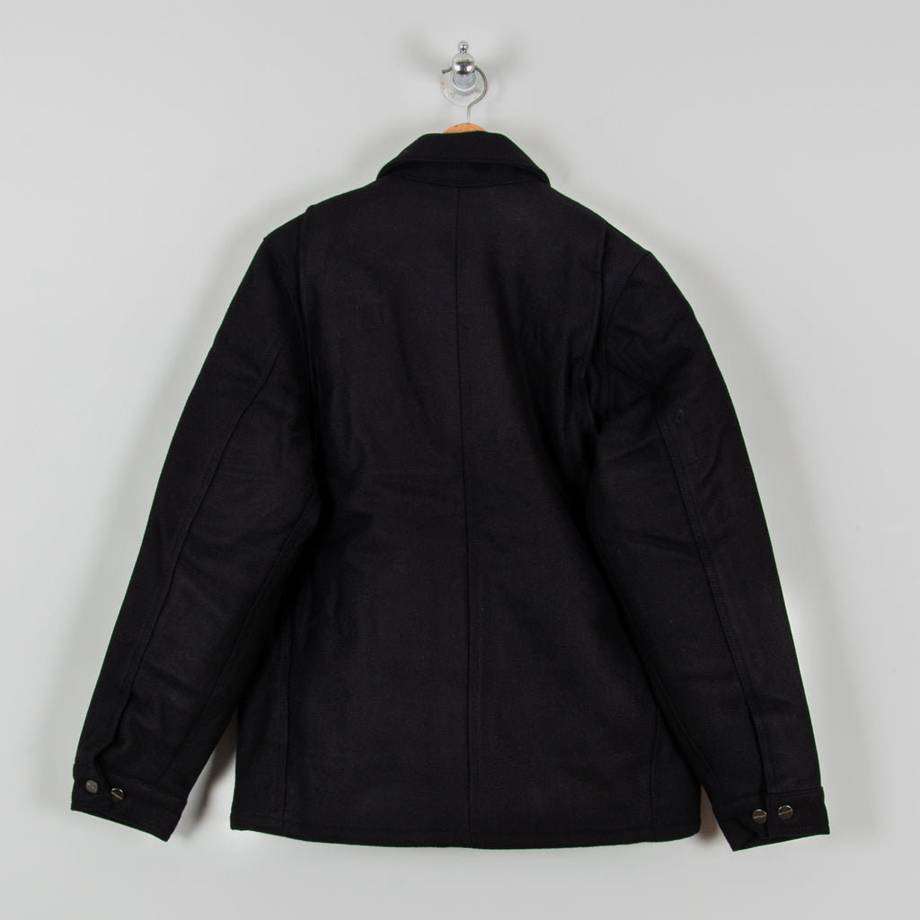 Carhartt WIP Wool Arctic Coat - Dark Navy 3