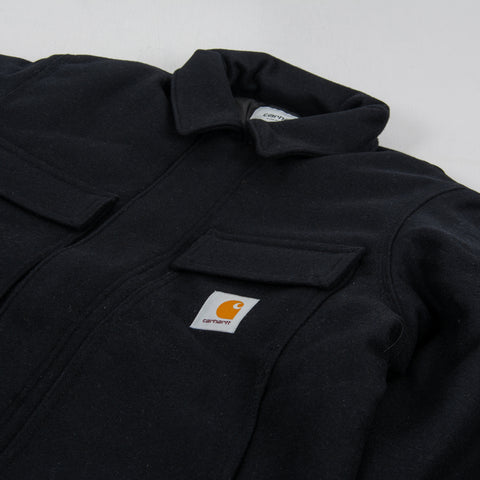 Carhartt WIP Wool Arctic Coat - Dark Navy 2