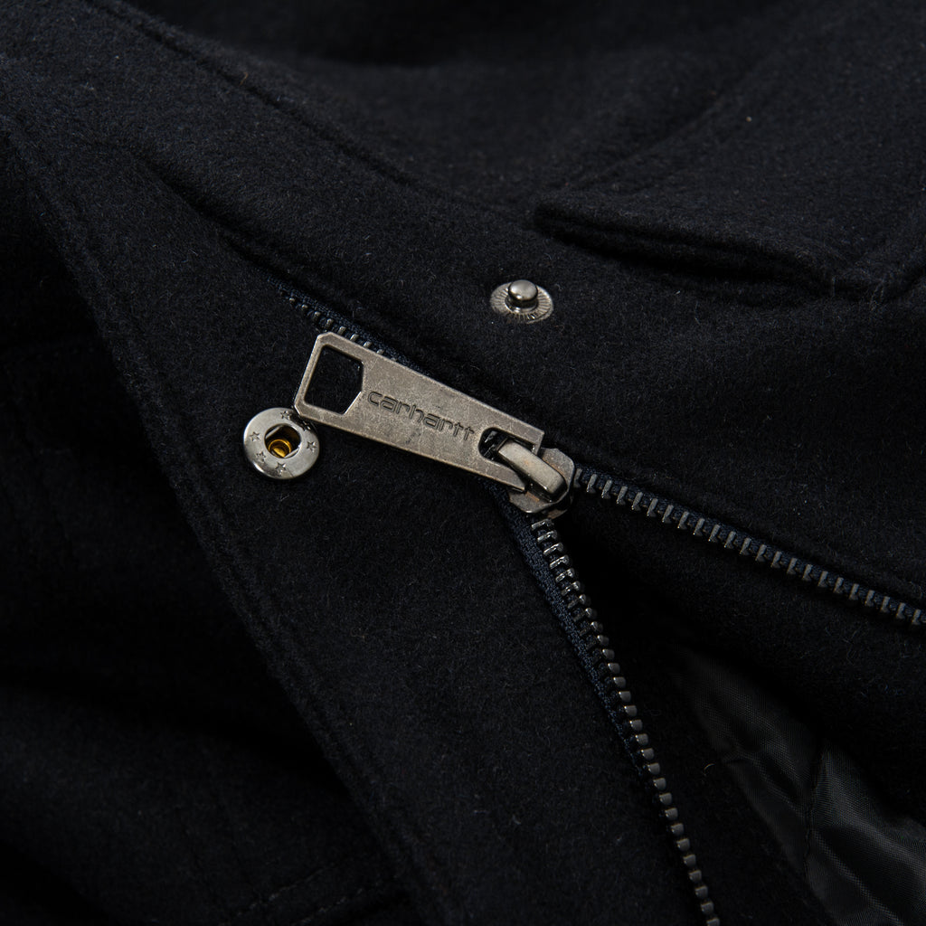 Carhartt WIP Wool Arctic Coat - Dark Navy 5