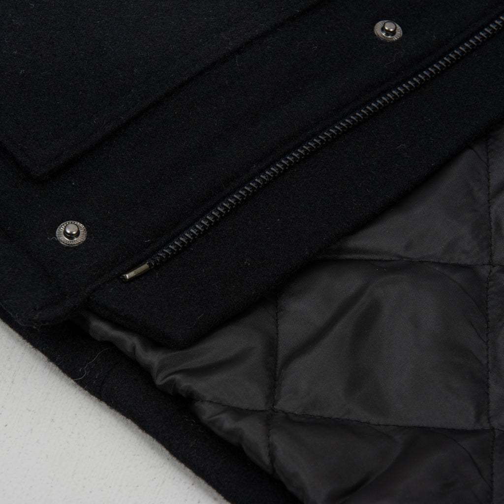 Carhartt WIP Wool Arctic Coat - Dark Navy 6