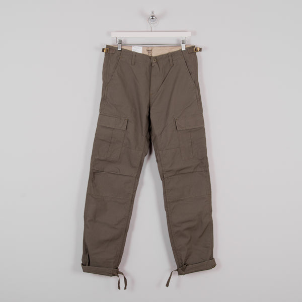 Carhartt WIP Aviation Cargo Pant - Moor Rinsed