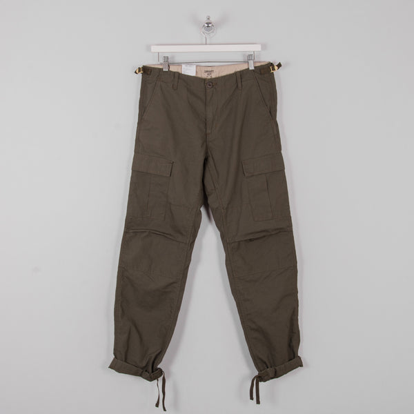 Carhartt Aviation Cargo Pant - Cypress Rinsed 3