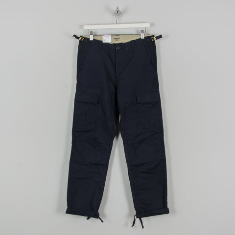 Carhartt WIP Aviation Cargo Pant - Dark Navy Rinsed 1