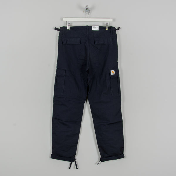 Carhartt WIP Aviation Cargo Pant - Dark Navy Rinsed 4