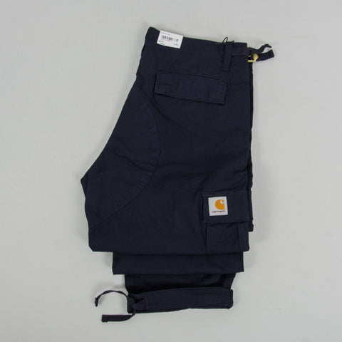 Carhartt WIP Aviation Cargo Pant - Dark Navy Rinsed 2