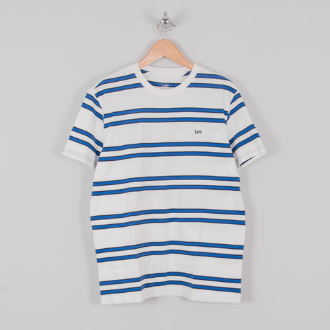 Lee Basic Stripe Tee - Ecru 1