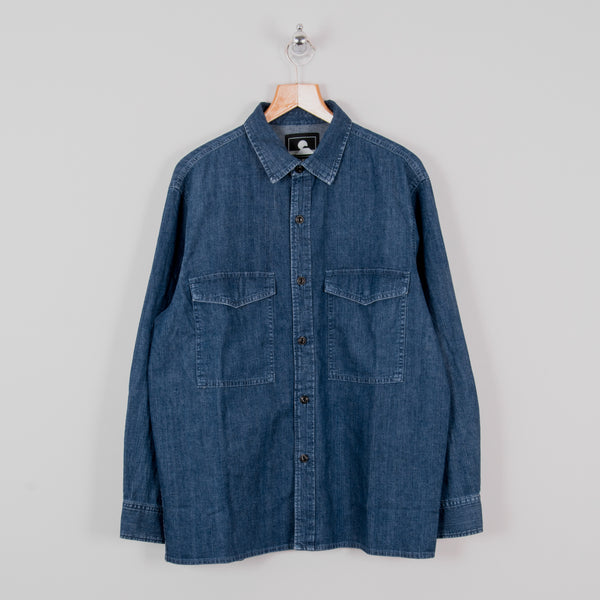 Edwin Big Shirt - Blue Easy Stonewash 1