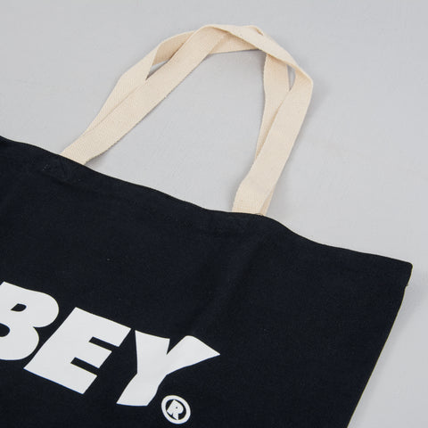 Obey Bold Tote Bag - Black 3