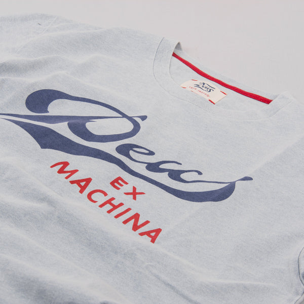 Deus ex Machina Born S/S Tee - Bleached White 2