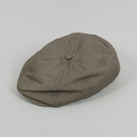 Brixton Brood Snap Flat Cap - Dark Military Olive 1