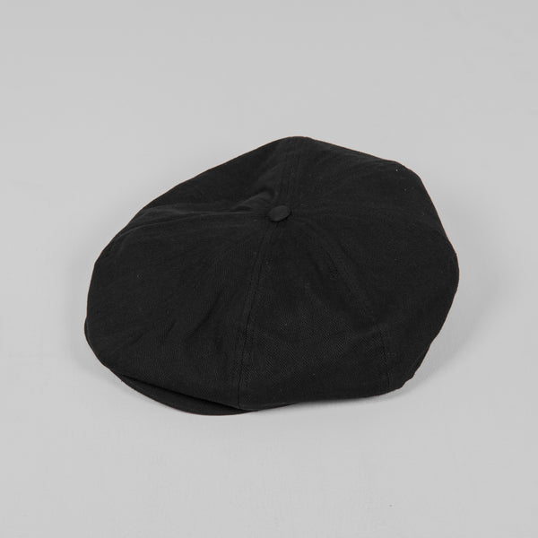 Brixton Brood Flat Cap - Black Front