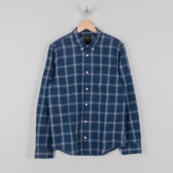Lee Button Down Shirt - Washed Blue 1