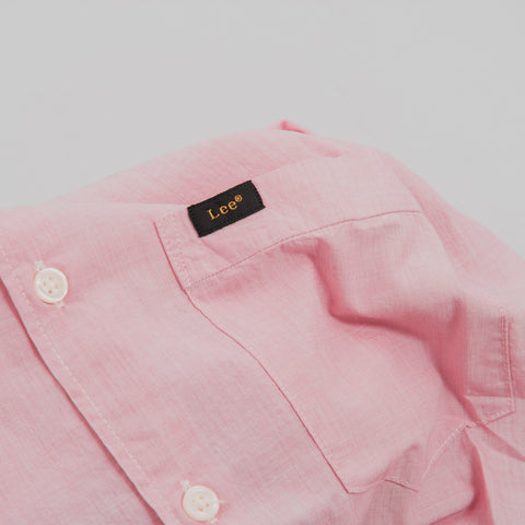 Lee Slim Button Down Shirt - Faded Pink