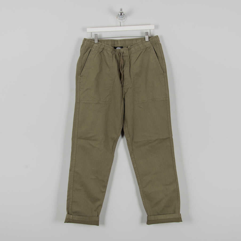 Dickies Cankton Elasticated Pant - Army Green 1