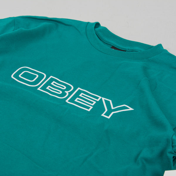 Obey Ceremony Tee  Teal 2