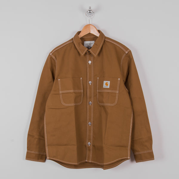 Carhartt Chalk Shirt - Hamilton Brown Rigid 1