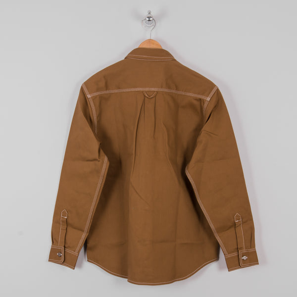 Carhartt Chalk Shirt - Hamilton Brown Rigid 3