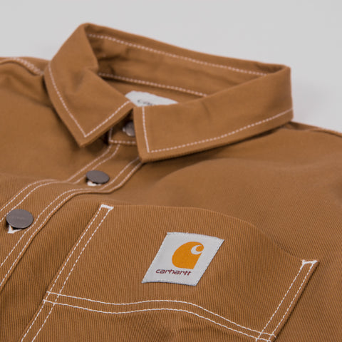 Carhartt Chalk Shirt - Hamilton Brown Rigid 2