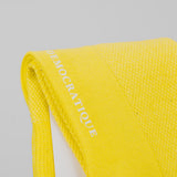 Democratique Champagne Pique Sock - Bright Yellow 2