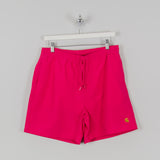 Carhartt WIP Chase Swim Trunks - Ruby Pink / Gold 1