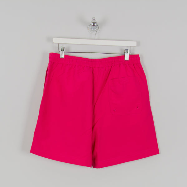 Carhartt WIP Chase Swim Trunks - Ruby Pink / Gold 3