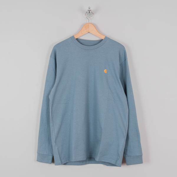 Carhartt WIP Chase L/S Tee - Mossa / Gold 1