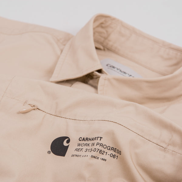 Carhartt Coleman Shirt - Wall / Black 2
