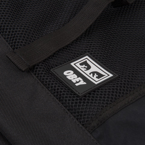 Obey Conditions Roll Top Bag - Black 2