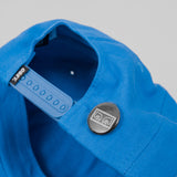 Obey Cutty 6 Panel Snap Back Cap - Bright Blue 3