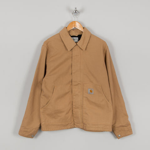 Carhartt WIP Arcan Unlined Jacket - Dusty Hamilton Brown 1