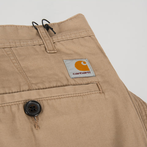 Carhartt WIP Menson Twill Pant - Leather 2