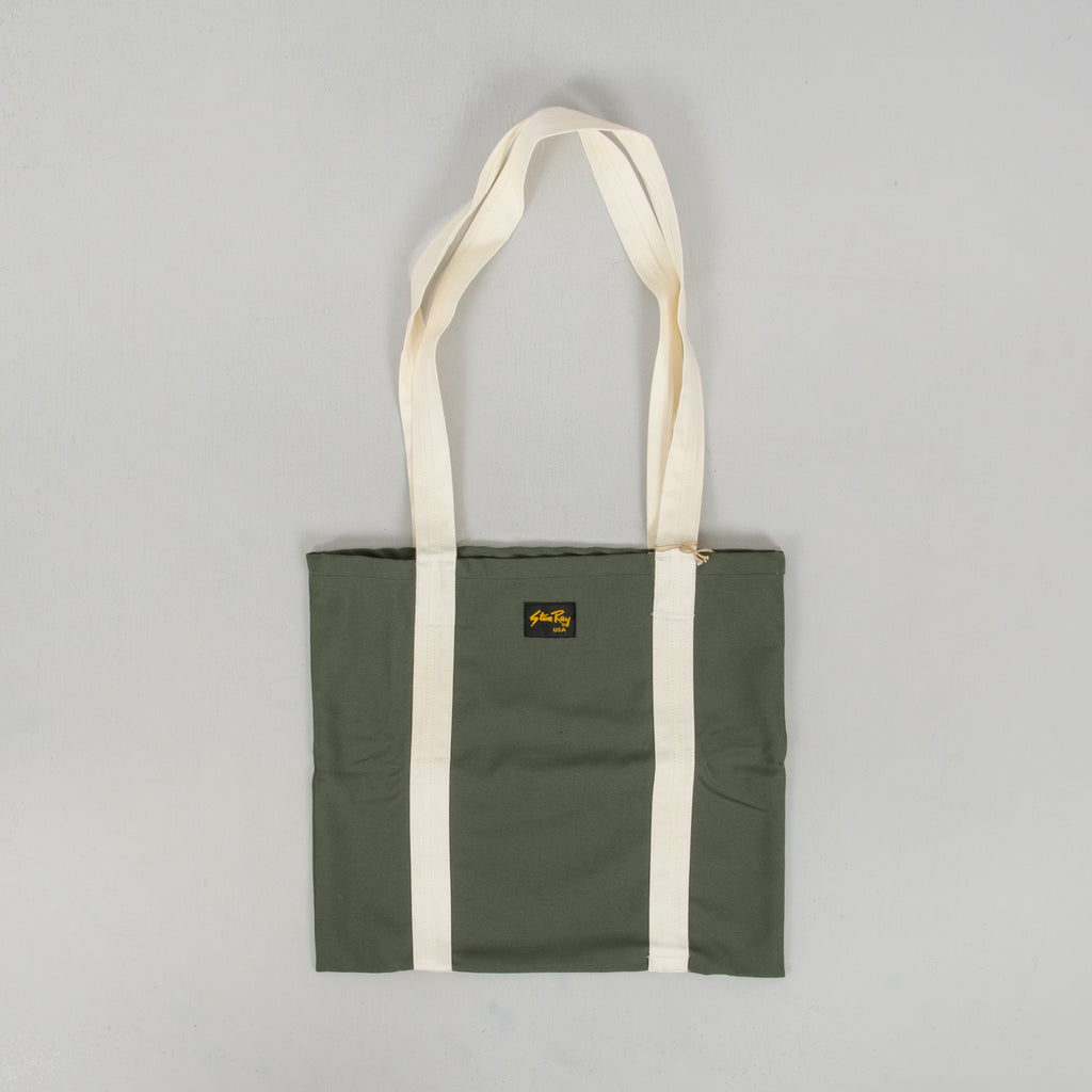 Stan Ray Tote Bag - Olive Sateen 1