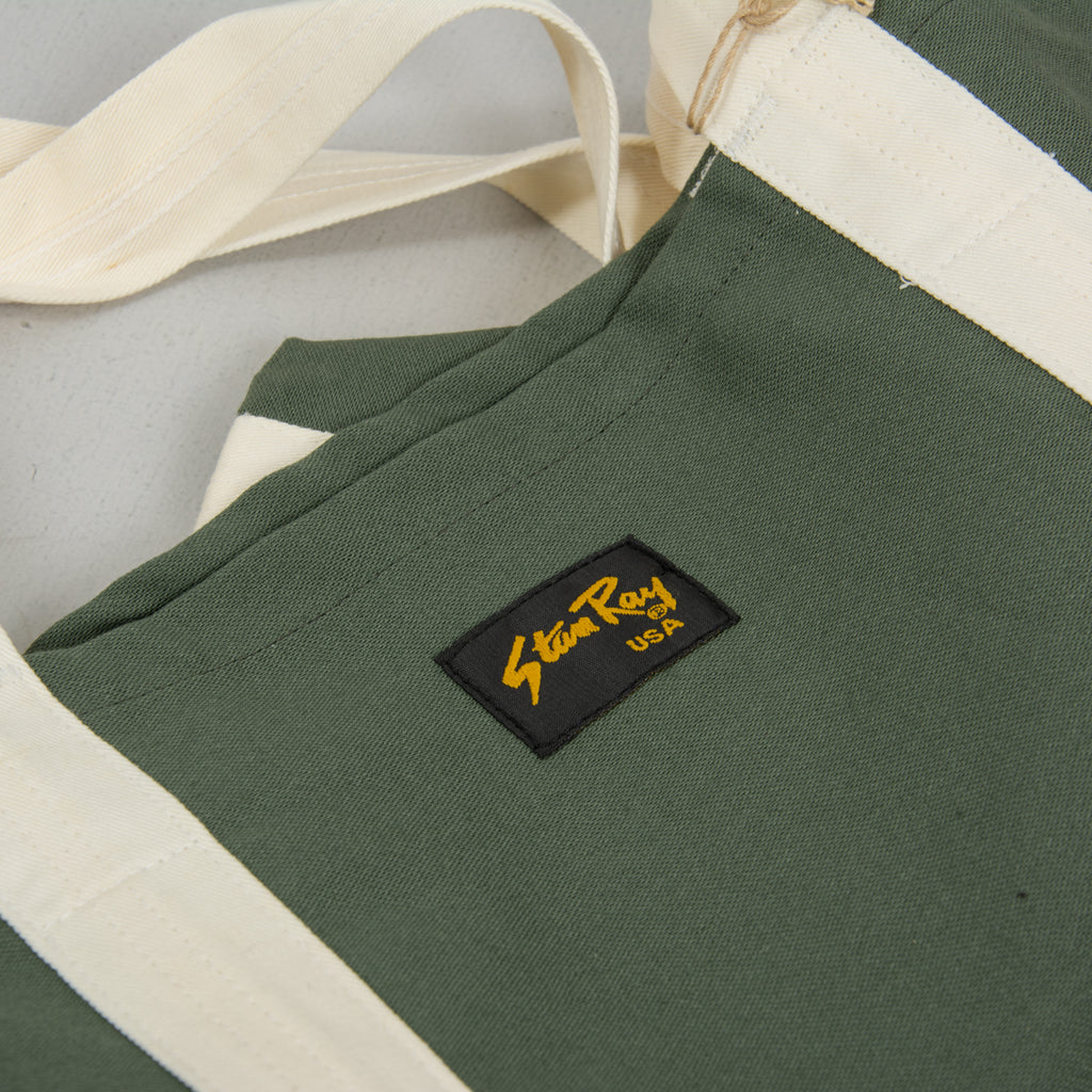 Stan Ray Tote Bag - Olive Sateen 2