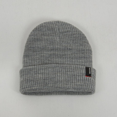 Brixton Heist Beanie - Light Grey 1