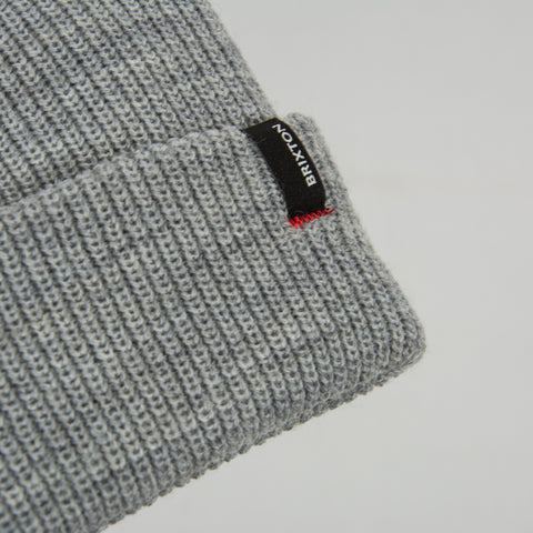 Brixton Heist Beanie - Light Grey 2
