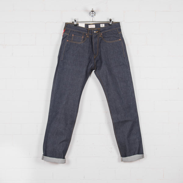 Hawksmill Denim Co Loose Tapered Jean Cone Mills Selvedge