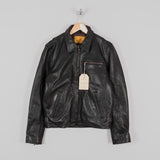 Shangri-La Heritage Varene Leather Jacket - Black 1