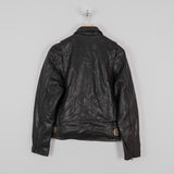 Shangri-La Heritage Varene Leather Jacket - Black 3