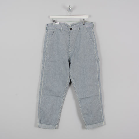 Lee Hickory Carpenter Pant - Blue/White 1
