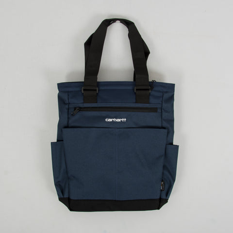 Carhartt WIP Payton Kit Bag - Admiral /Black / White 1