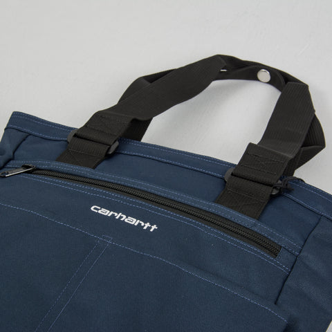 Carhartt WIP Payton Kit Bag - Admiral /Black / White 2
