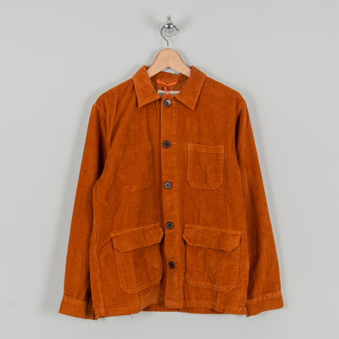 Far Afield Porter Cord Jacket - Orange 1