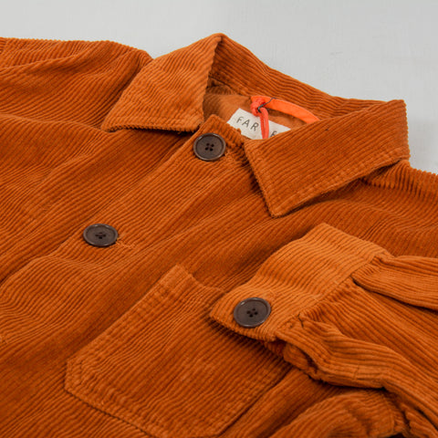 Far Afield Porter Cord Jacket - Orange 2